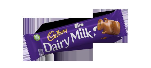 Dairy Milk au chocolat, Cadbury (45 g)