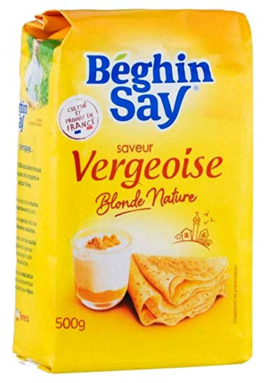 Vergeoise blonde, Beghin Say (500 g)
