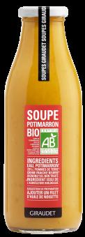 Soupe au potimarron BIO, Giraudet (500 g)