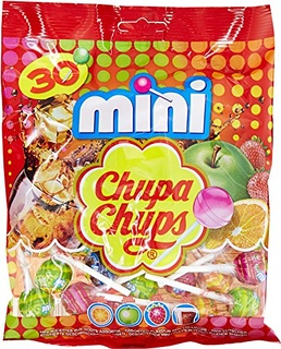 Assortiment de mini sucettes, Chupa Chups (x 30, 180 g)