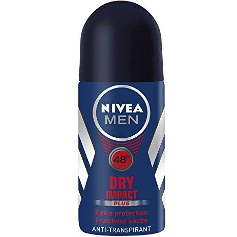 Déodorant bille Dry Impact pour homme, Nivea (50 ml)