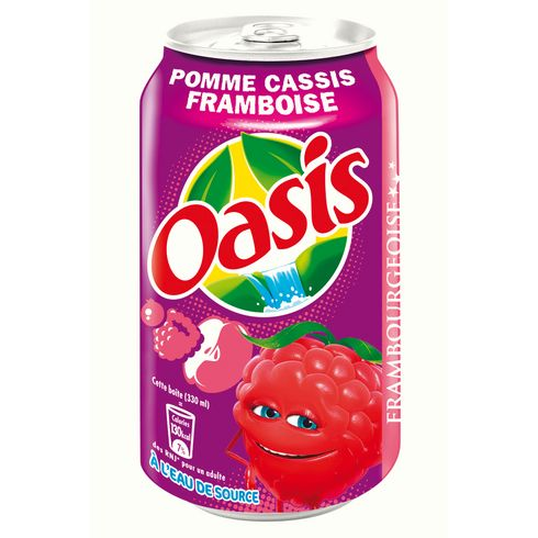 Oasis Pomme-Cassis-Framboise (33 cl)