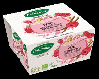 Soya variation framboise/vanille, Provamel Frais (x 4, 500 g)