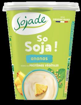 Sojade ananas arôme bio So Soja, Sojade (400 g)