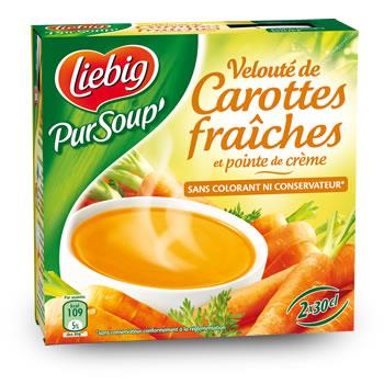 Velouté de carottes fraîches, Liebig (2 x 30 cl)