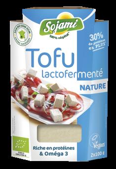 Tofu lactofermenté nature, Le Sojami (x 2, 200 g)
