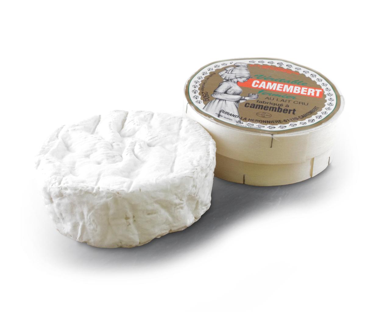 Camembert fermier de Camembert AOP, Beillevaire (250 g)
