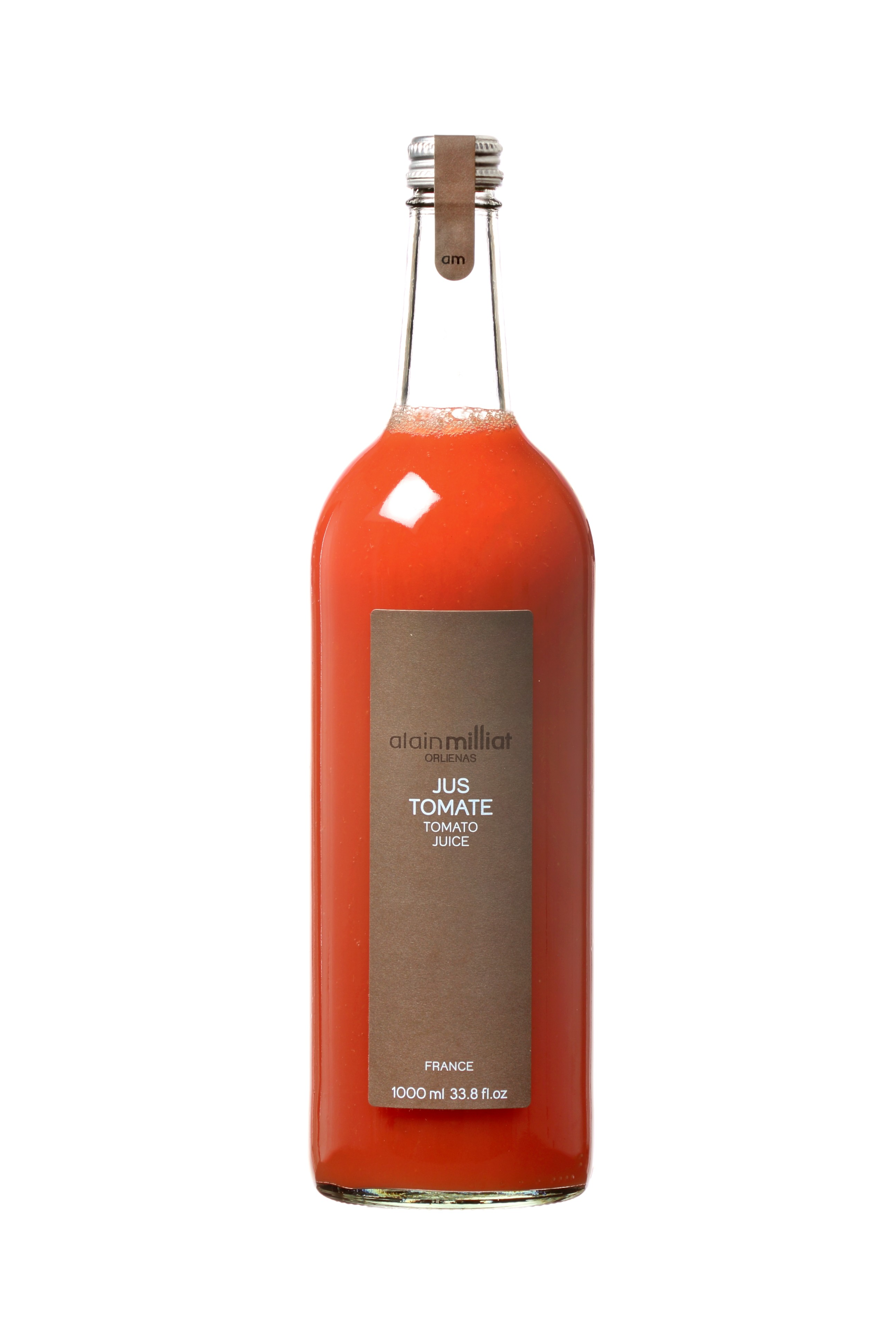 Jus Tomate Rouge, Alain Milliat (1 L)