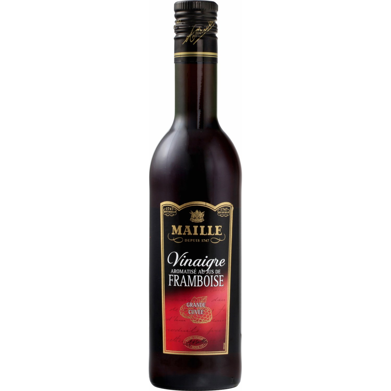 Vinaigre de vin rouge et framboise, Maille (50 cl)
