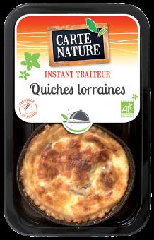 Quiches lorraines BIO, Carte Nature (230 g)