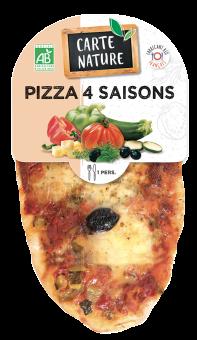 Pizza 4 saisons BIO, Carte Nature (150 g)