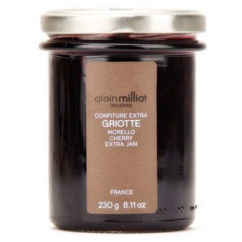 Confiture Extra Griotte, Alain Milliat (230 g)