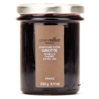 Confiture Extra Griotte, Alain Milliat (230 g)