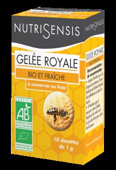 Gelée royale BIO, Nutrisensis (10 g)