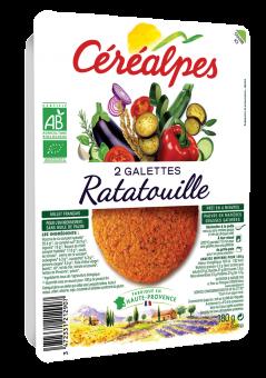 Galettes de céréales ratatouille BIO, Céréalpes (x 2, 180 g)