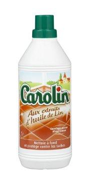 Nettoyant pour carrelage à l'huile de lin, Carolin (1 L)