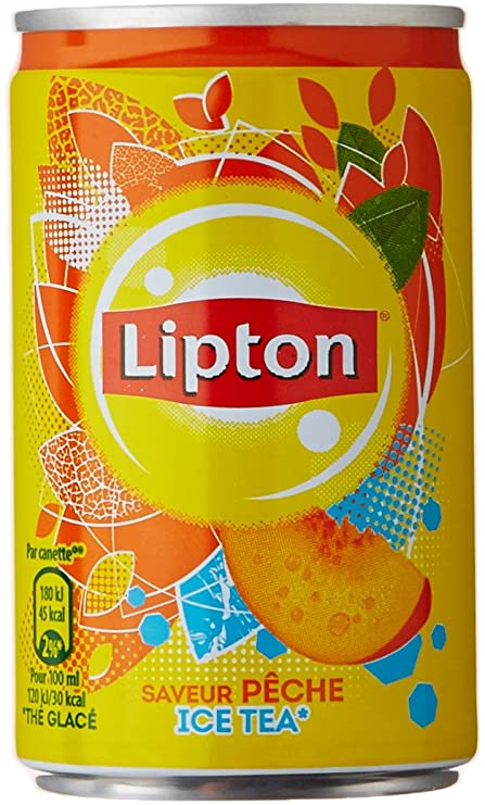 Ice Tea pêche, Lipton (15 cl)