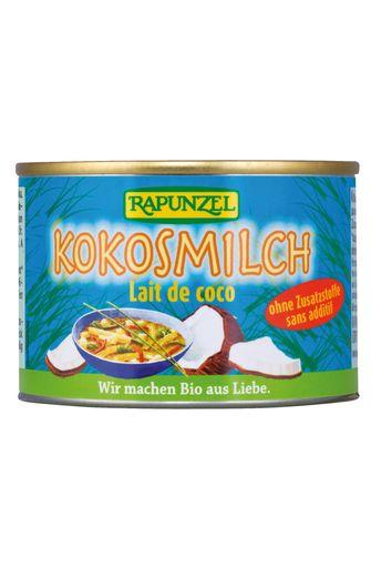 Lait de noix de coco pressée BIO, Rapunzel (200 ml)