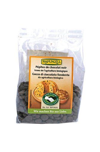 Pépites de chocolat noir BIO, Rapunzel (100 g)