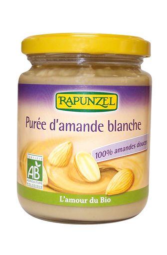 Purée d'amandes blanches BIO, Rapunzel (250 g)