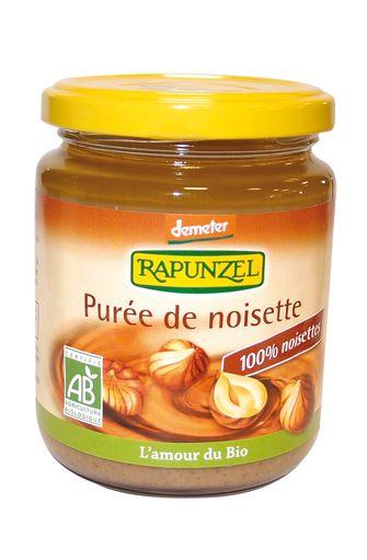 Purée de noisettes complètes BIO, Rapunzel (250 g)