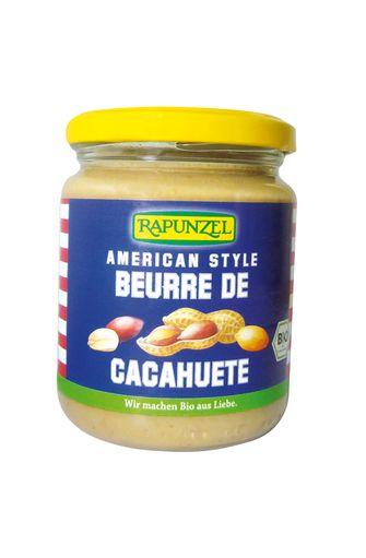 Beurre de cacahuètes BIO, Rapunzel (260 g)