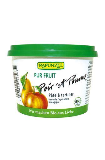 Pâte à tartiner poires et pommes BIO, Rapunzel (250 g)