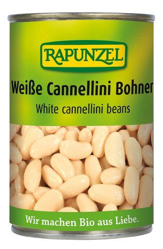 Haricots blancs Cannellini BIO, Rapunzel (400 g)