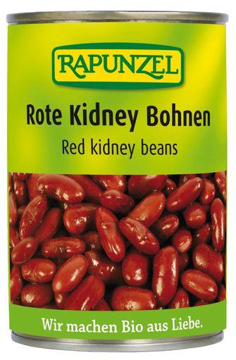 Haricots rouges cuits Kidney BIO, Rapunzel (400 g)