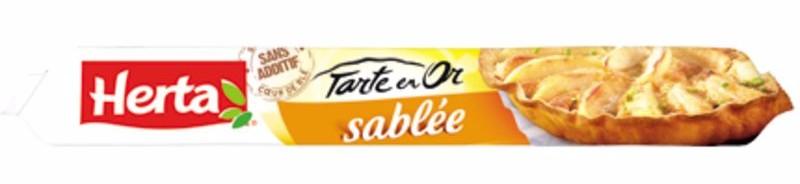 Pâte sablée roulée Tarte en Or, Herta (230 g)