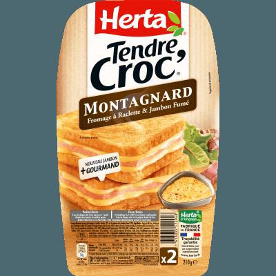 Croque Monsieur Tendre Croc' montagnard, Herta (x2, 210 g)