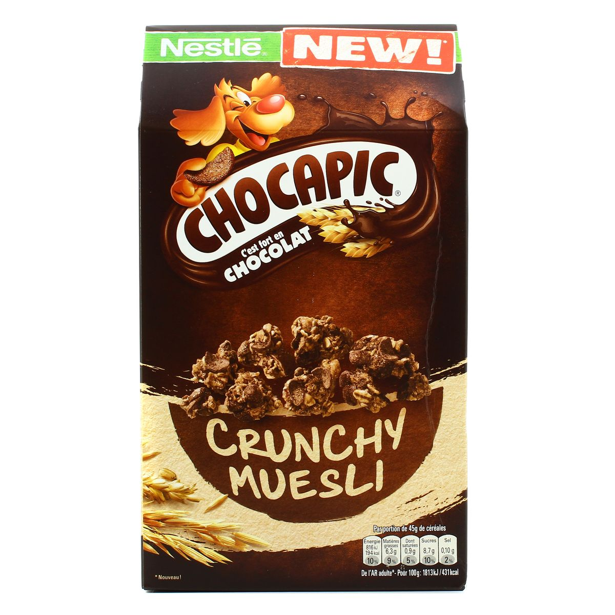 Chocapic Crunchy céreales, Nestle (420 g)