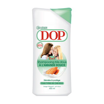 Shampooing aux amandes, DOP (400 ml)