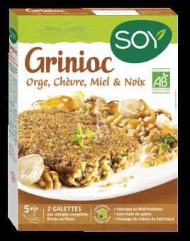Grinioc orge/chèvre/miel et noix, Soy (x 2, 200 g)