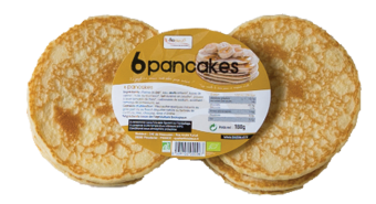 Pancakes BIO, Biobleud (x 6, 180 g)