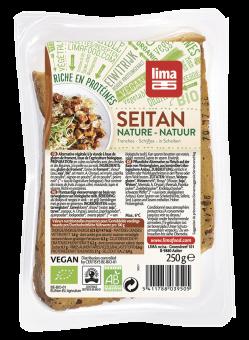 Seitan nature en tranches, Lima Frais (250 g)