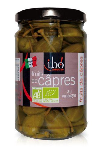 Fruits de câpres au vinaigre BIO, Ibo (280 g)