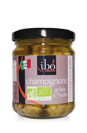 Champignons grillés à l'huile BIO, Ibo (190 g)