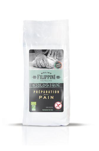 Préparation pour pain BIO, Filippini (500 g)