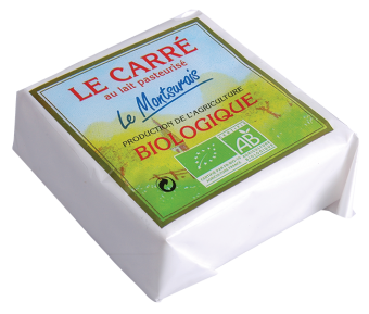 Carré BIO au lait pasteurisé, 20 % MG/PF, Le Montsûrais (200 g)