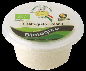 Parmesan AOP râpé en barquette BIO 28,4 % MG, Casearia Di Sant'Ann (100 g)