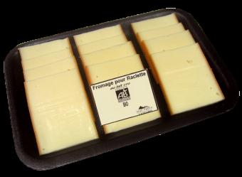 Raclette lait cru BIO en tranchettes, 28 % MG, Jean Perrin (360 g)