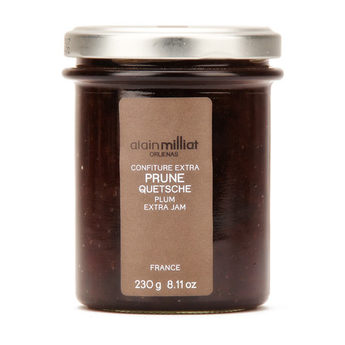 Confiture Extra Prune Quetsche, Alain Milliat (230 g)