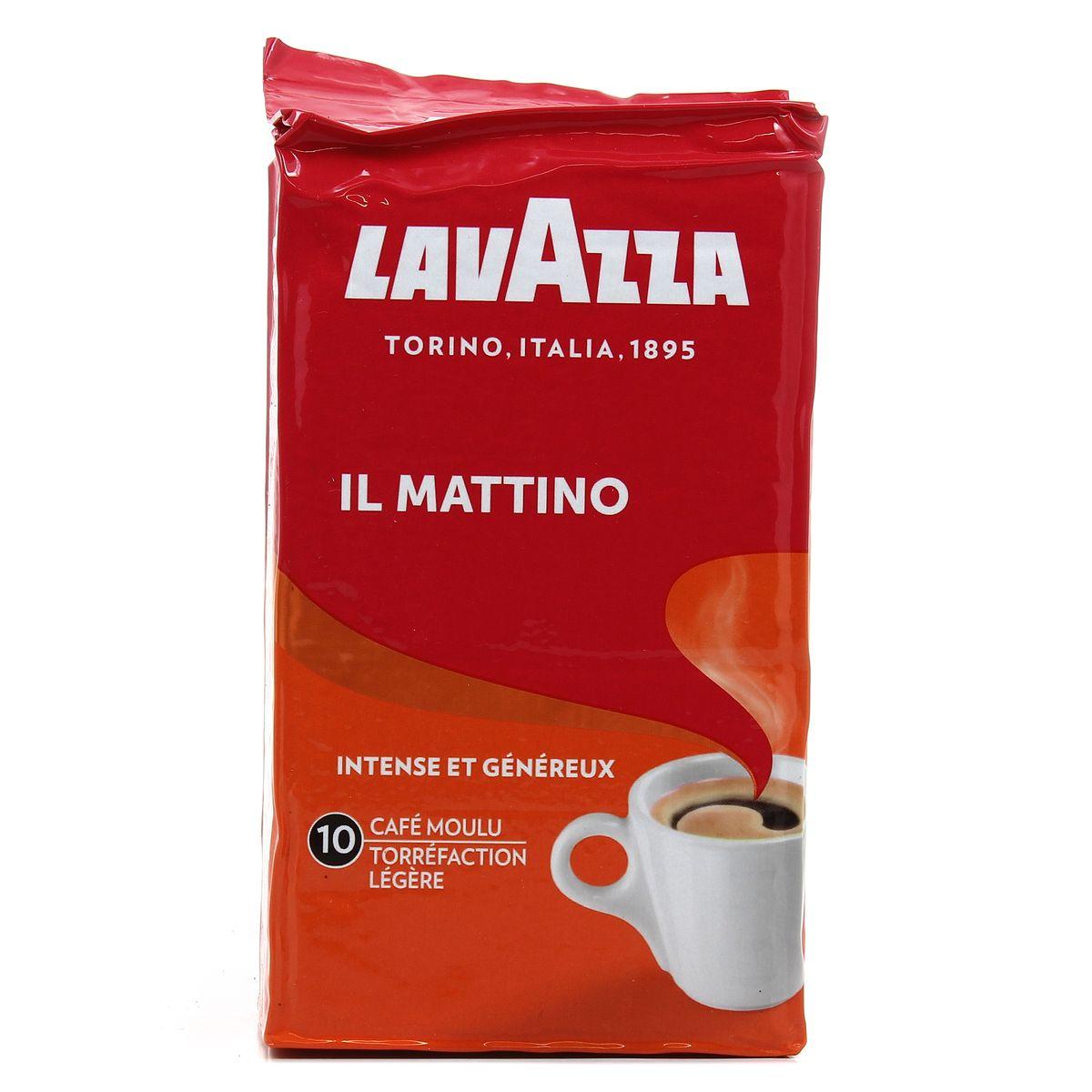 Café moulu il mattino, Lavazza (250 g)