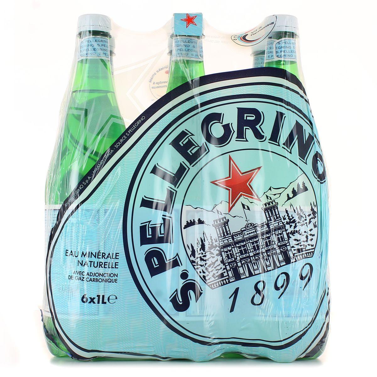 Pack de San Pellegrino (6 x 1 L)