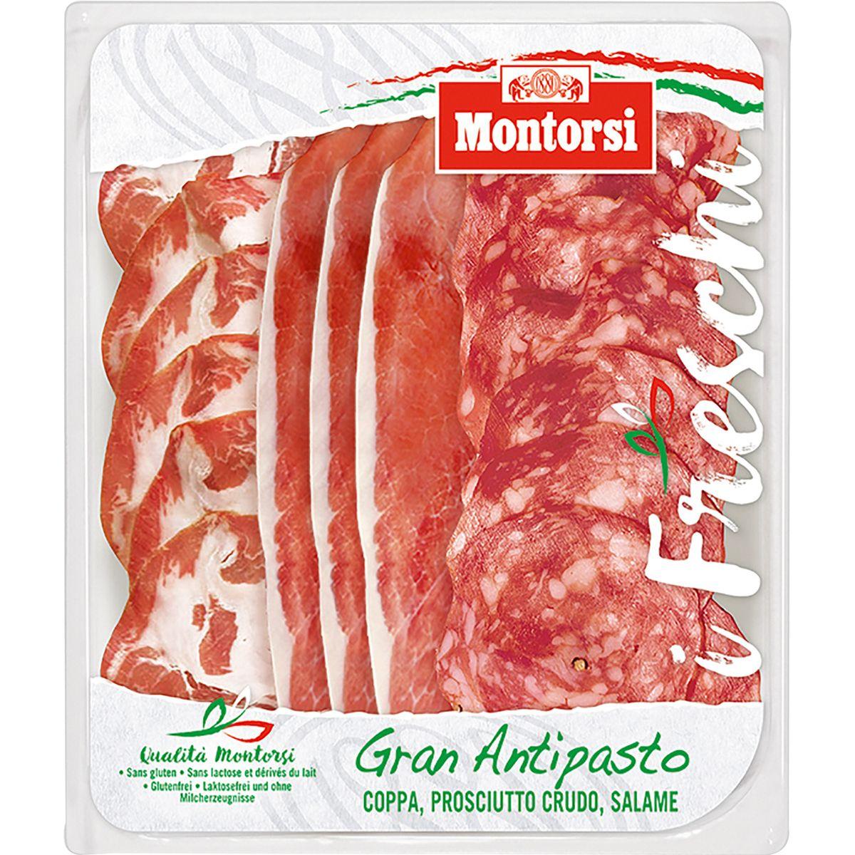 Gran Antipasto assiette Italienne, Montorsi (14 tranches, 120 g)