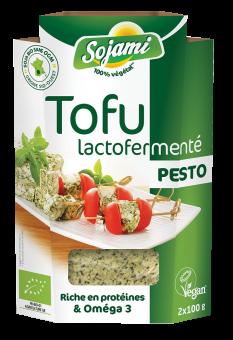 Tofu lactofermenté au pesto, Le Sojami (x 2, 200 g)