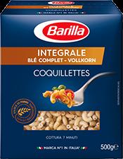 Coquillettes au blé complet Intégrale, Barilla (500 g)