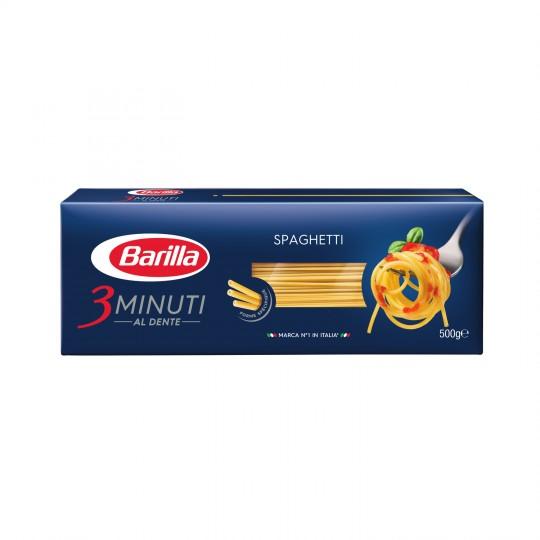 Spaghetti 3 minuti al dente, Barilla (500 g)