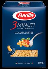 Coquillettes 3 minuti al dente, Barilla (500 g)